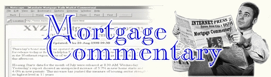 Mortgage Commentary Services